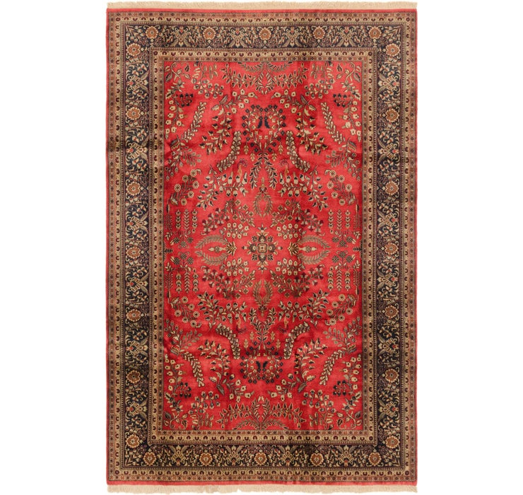 198cm x 310cm Sarough Oriental Rug