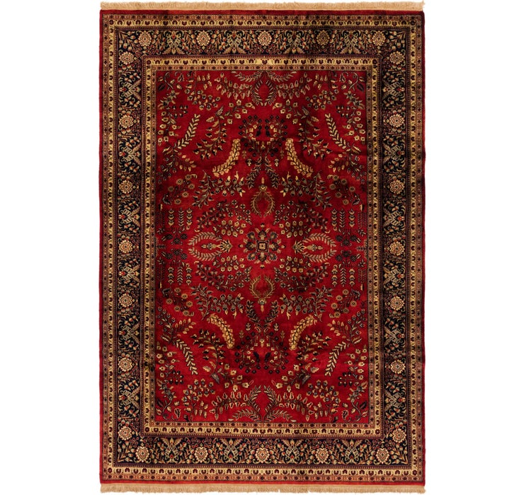 6' 6 x 9' 6 Sarough Rug