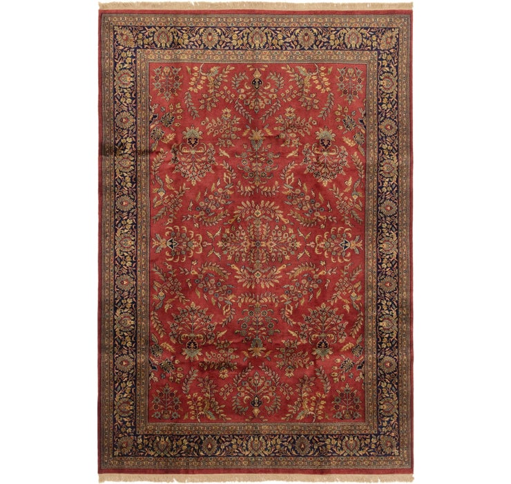 195cm x 292cm Sarough Oriental Rug