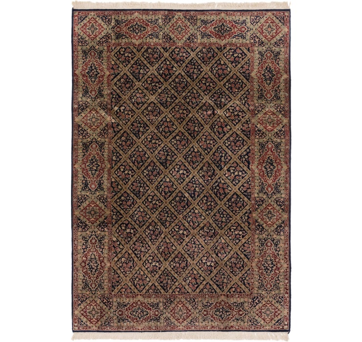 190cm x 285cm Sarough Oriental Rug