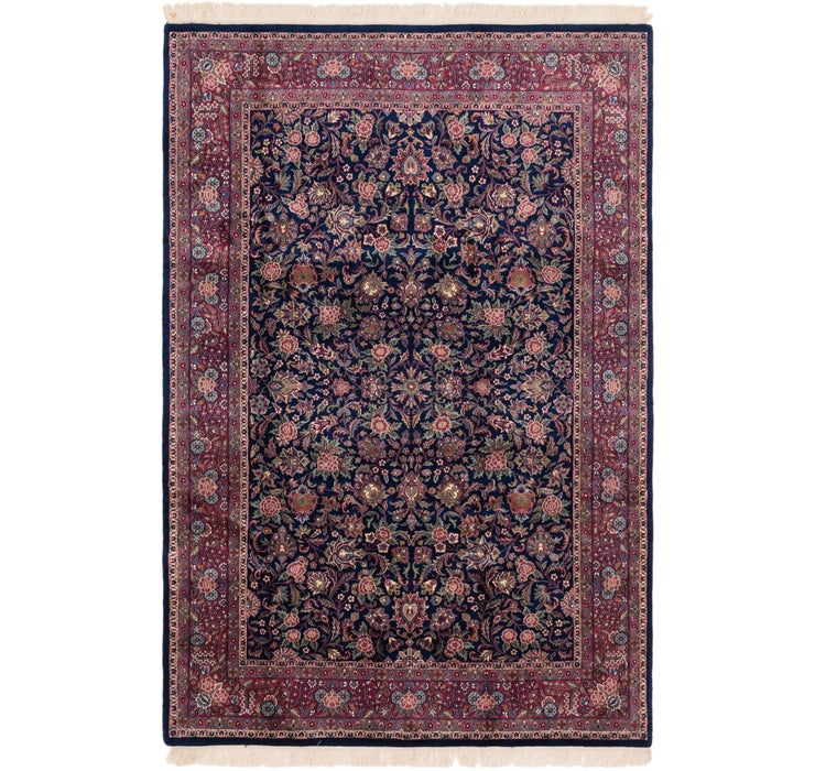 198cm x 295cm Sarough Oriental Rug