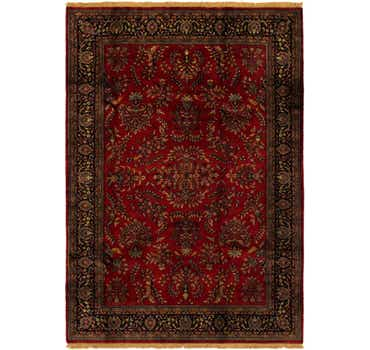 Image of 6' 7 x 9' 6 Sarough Oriental Rug