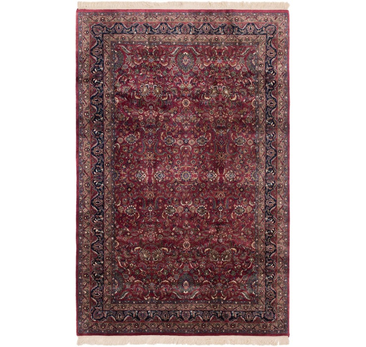 190cm x 300cm Sarough Oriental Rug