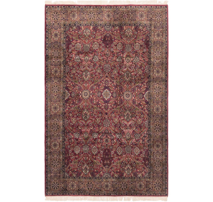 195cm x 305cm Sarough Oriental Rug