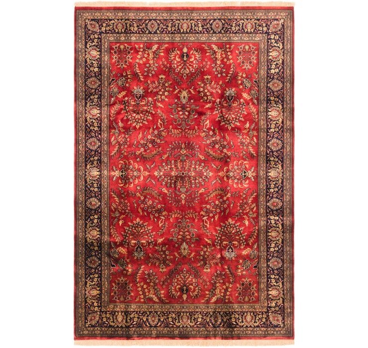 198cm x 302cm Sarough Oriental Rug