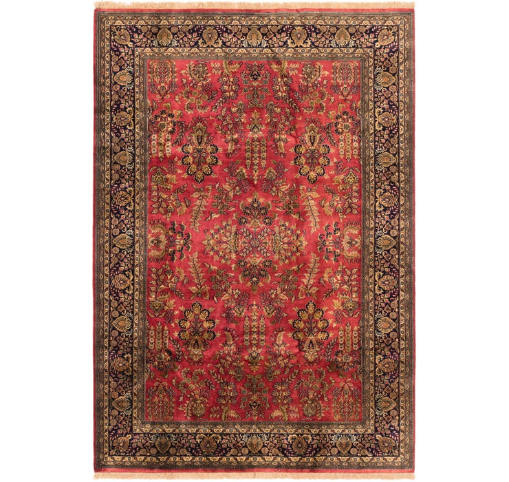 6' 8 x 9' 7 Sarough Oriental Rug
