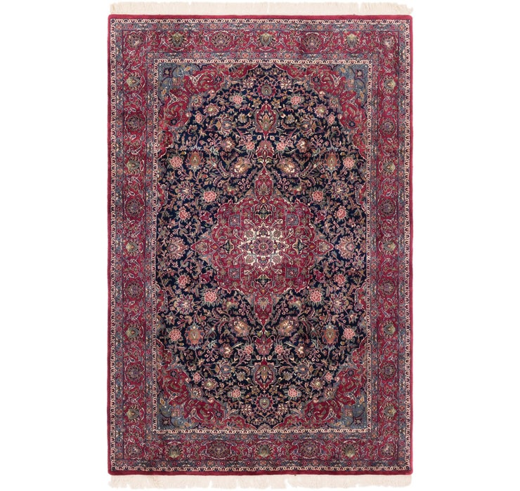 6' 4 x 9' 8 Sarough Oriental Rug
