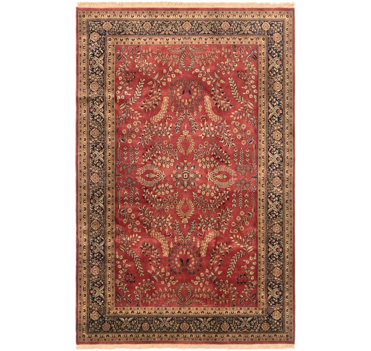 6' 4 x 10' 1 Sarough Oriental Rug