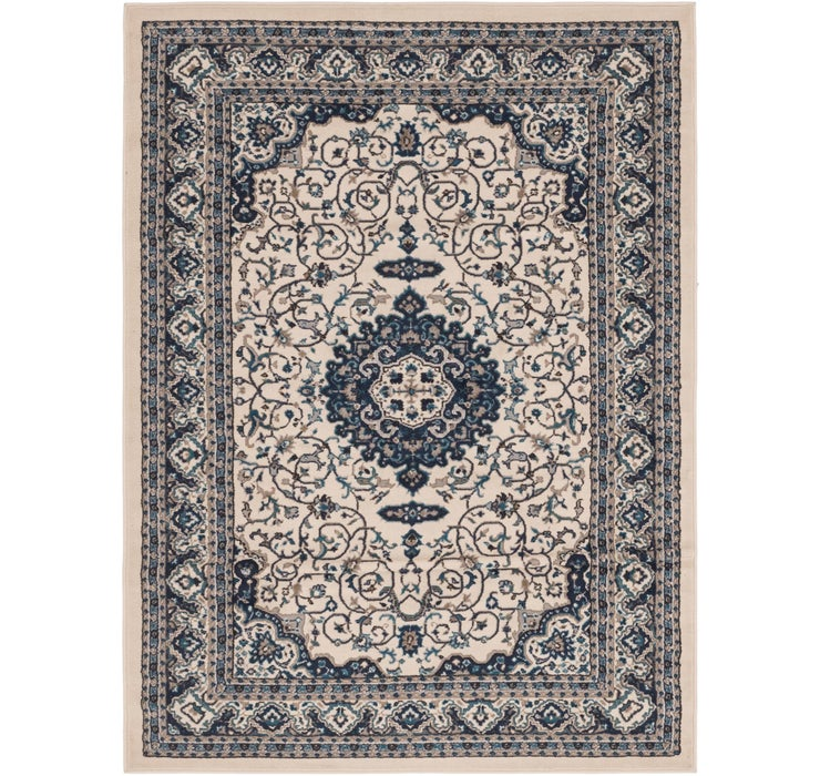 5' 4 x 7' 3 Mashad Design Rug