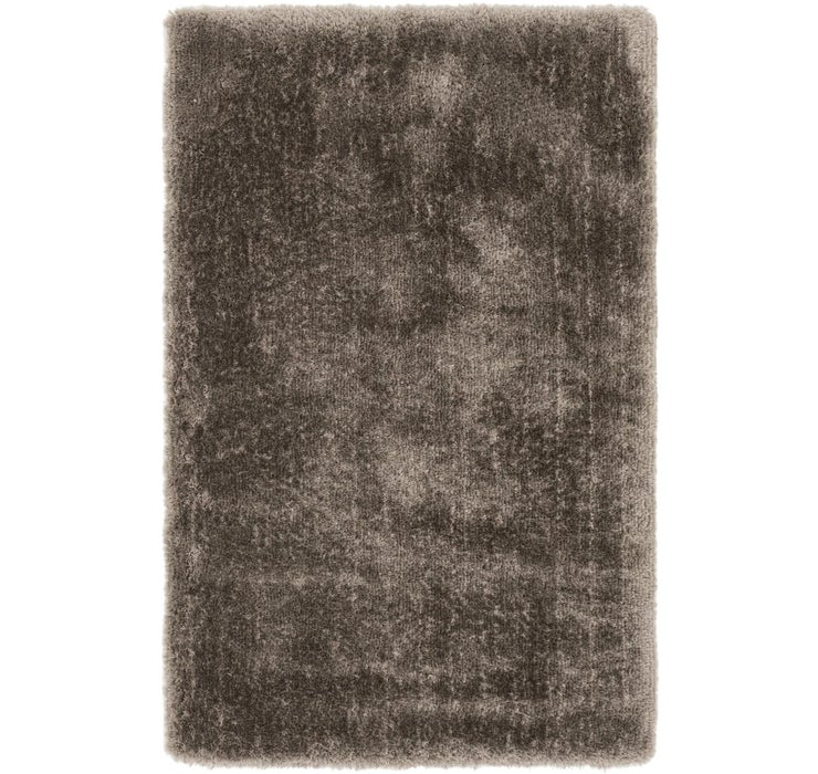 5' 4 x 8' 1 Luxe Solid Shag Rug