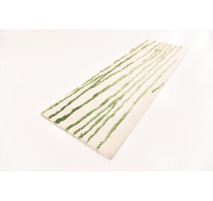 3' 3 x 9' 10 Textured Shag Runner Rug