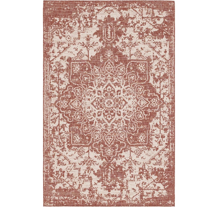 157cm x 245cm Outdoor Traditional Rug