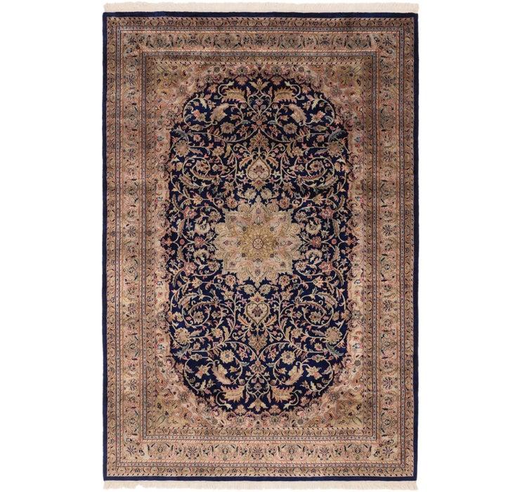 6' 6 x 9' 10 Mashad Oriental Rug