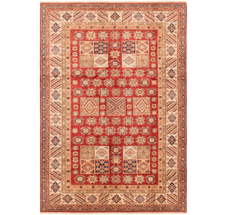 6' 6 x 9' 5 Kazak Oriental Rug