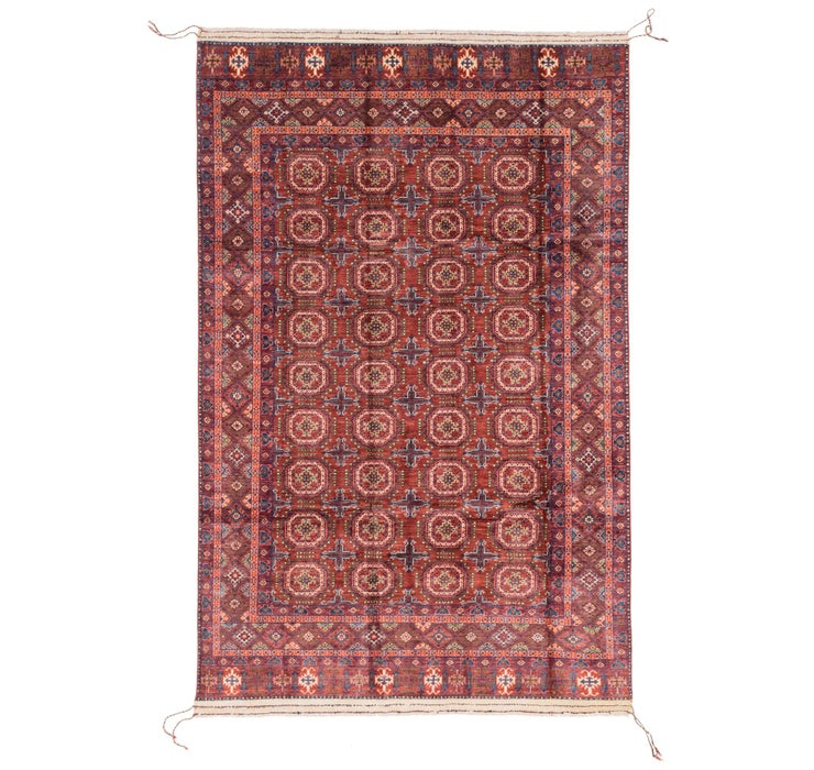 6' 6 x 10' 4 Afghan Ersari Rug