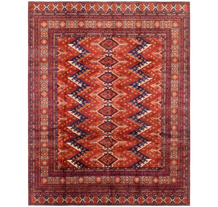 9' x 11' 5 Afghan Ersari Rug