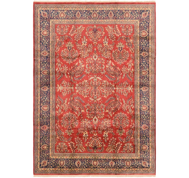 8' 1 x 11' 6 Sarough Rug