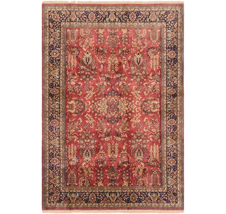 6' 7 x 9' 7 Sarough Rug