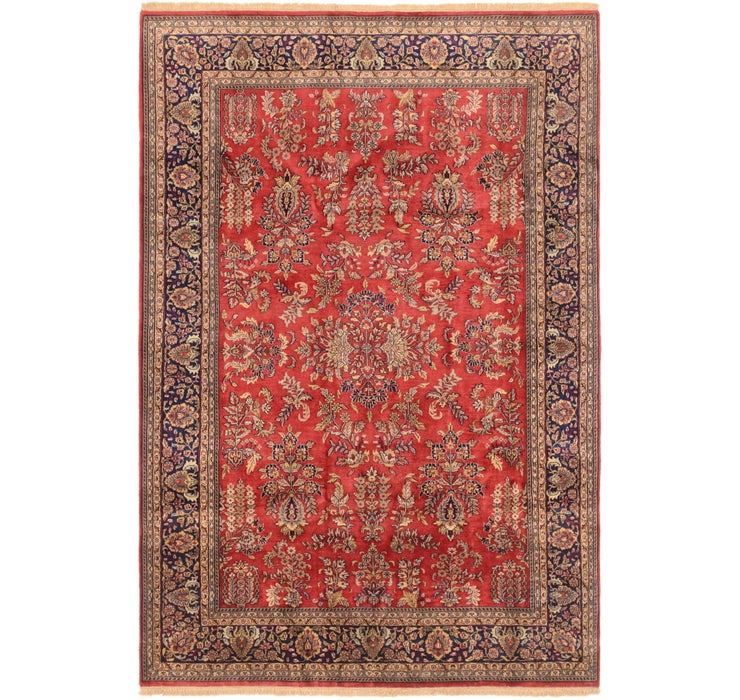 6' 10 x 10' 1 Sarough Oriental Rug
