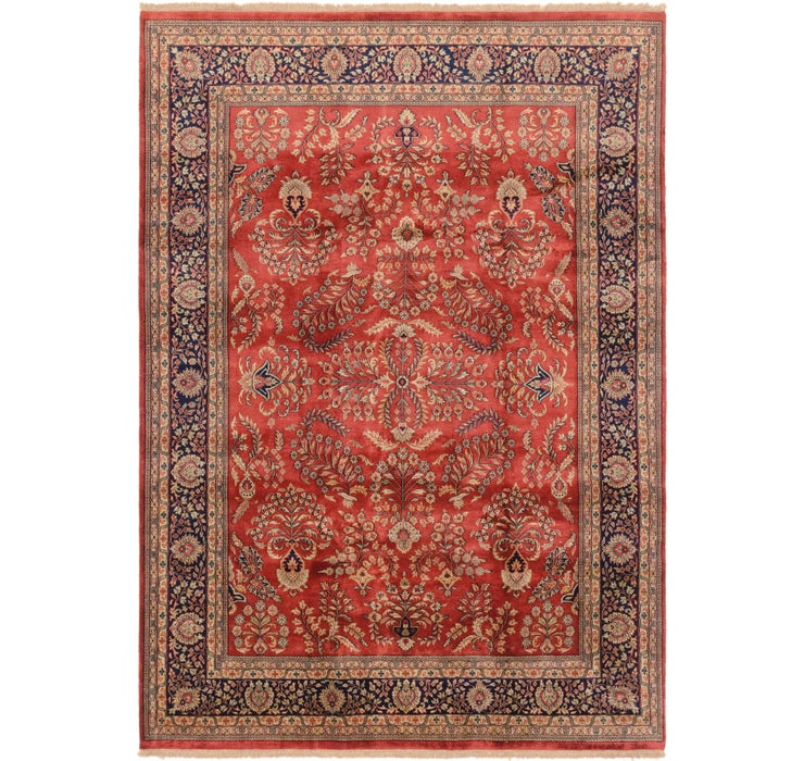 8' 2 x 11' 5 Sarough Oriental Rug