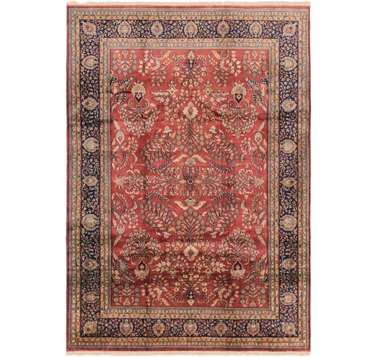 8' 1 x 11' 7 Sarough Oriental Rug