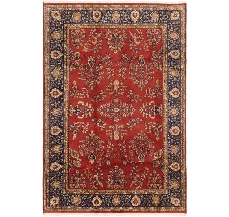 198cm x 292cm Sarough Oriental Rug