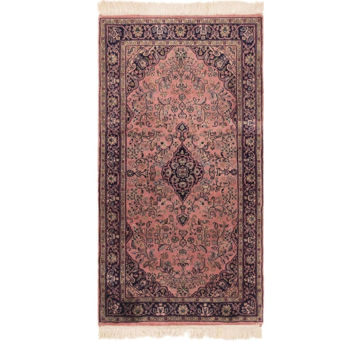 2' 5 x 4' 7 Sarough Oriental Rug