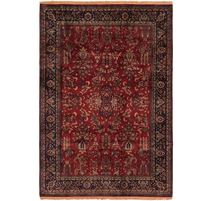 208cm x 300cm Sarough Oriental Rug
