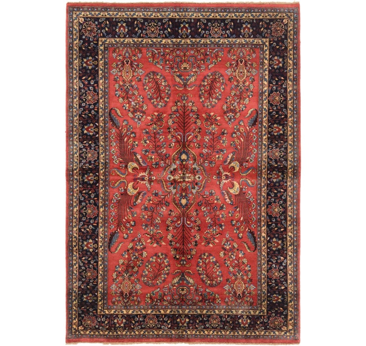 5' 8 x 8' 2 Sarough Oriental Rug