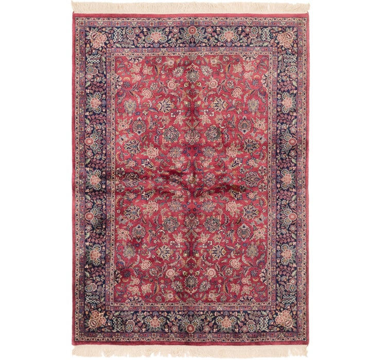 5' 8 x 7' 10 Sarough Oriental Rug