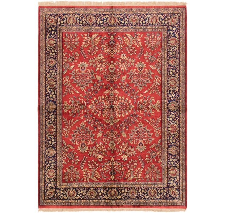 5' 8 x 7' 8 Sarough Oriental Rug