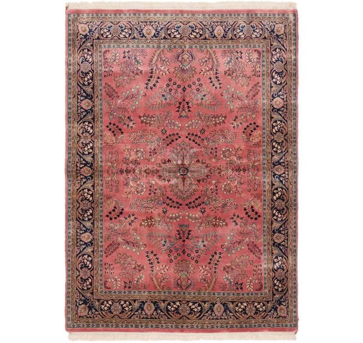 5' 8 x 7' 9 Sarough Oriental Rug