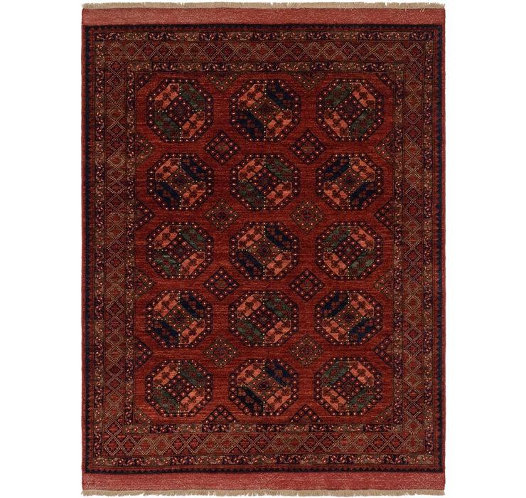 190cm x 255cm Afghan Ersari Rug