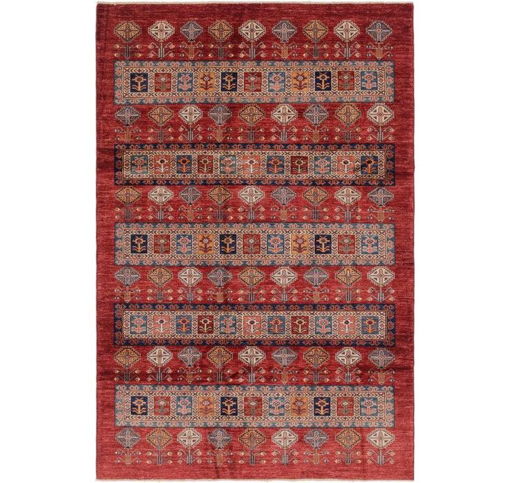 185cm x 277cm Kazak Oriental Rug