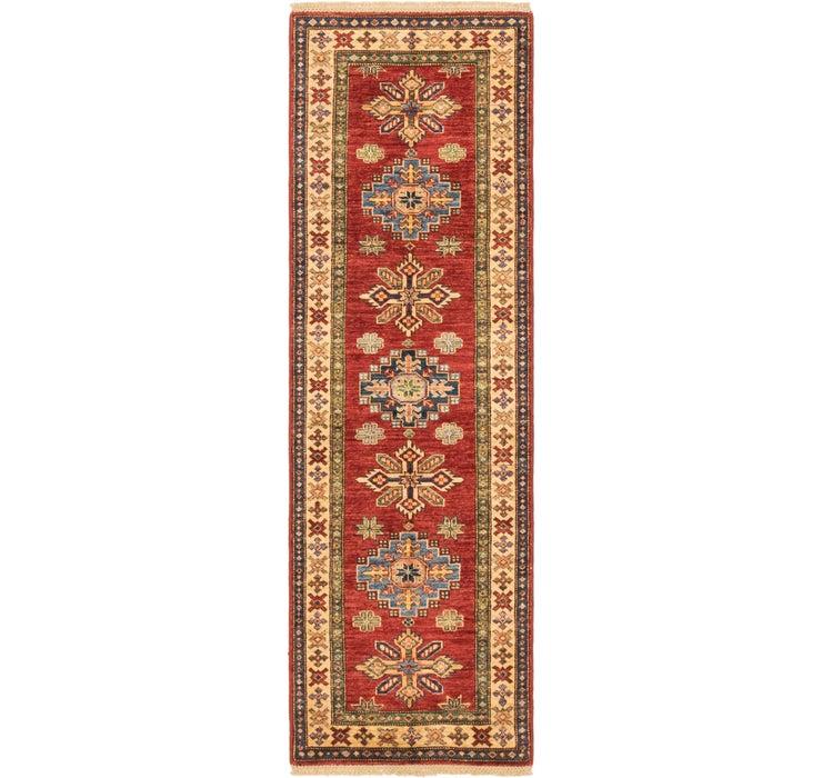 2' x 6' 4 Kazak Oriental Runner Rug