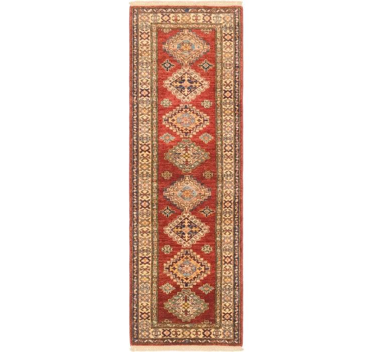 60cm x 193cm Kazak Oriental Runner Rug