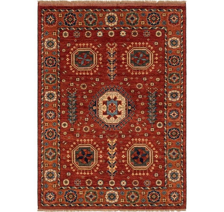 Image of 5' 6 x 7' 10 Afghan Ersari Rug
