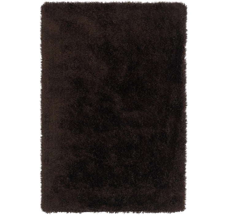 5' x 7' 6 Luxe Solid Shag Rug