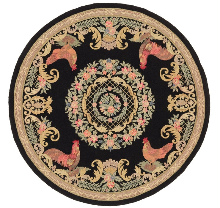 235cm x 240cm Country Round Rug