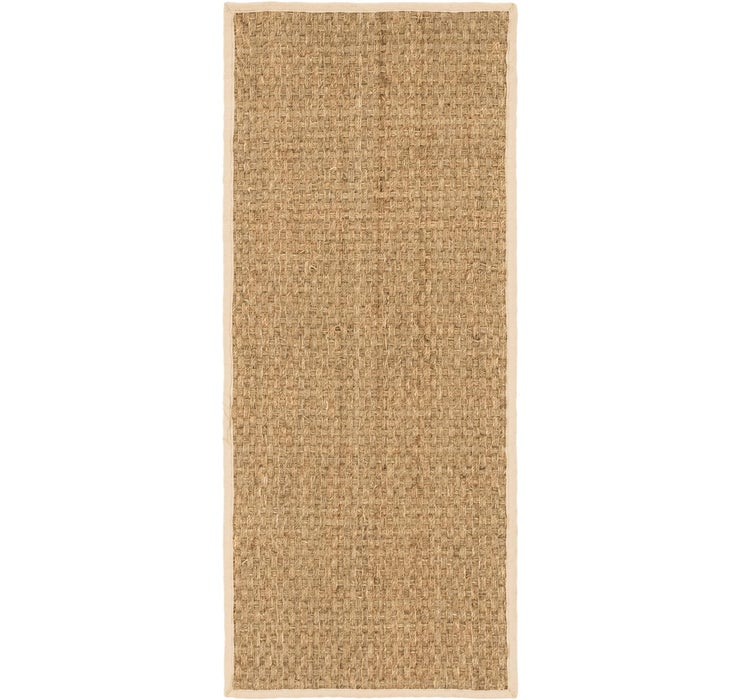 2' 5 x 6' Braided Jute Runner Rug