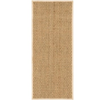 2' 5 x 6' Braided Jute Runner Rug main image