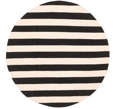 7' 4 x 7' 7 Chindi Cotton Round Rug main image