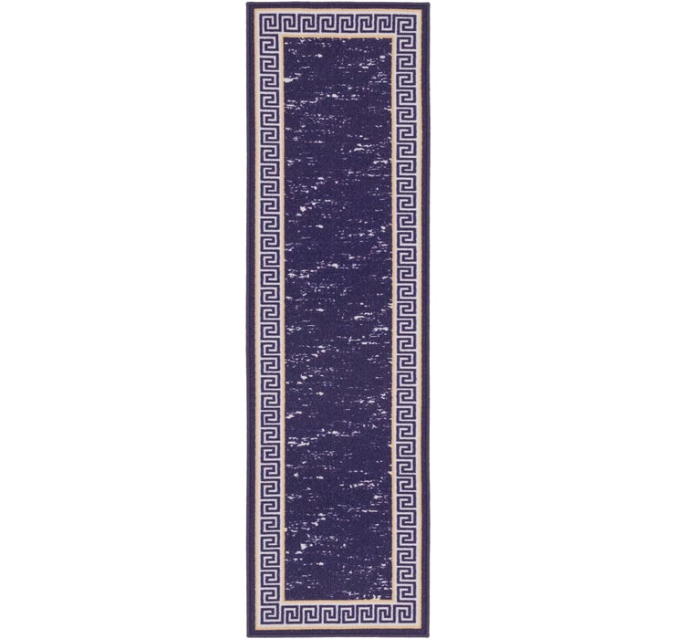 55cm x 208cm Greek Key Runner Rug