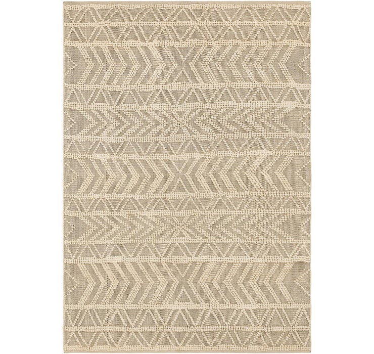 5' 3 x 7' 8 Chindi Cotton Rug