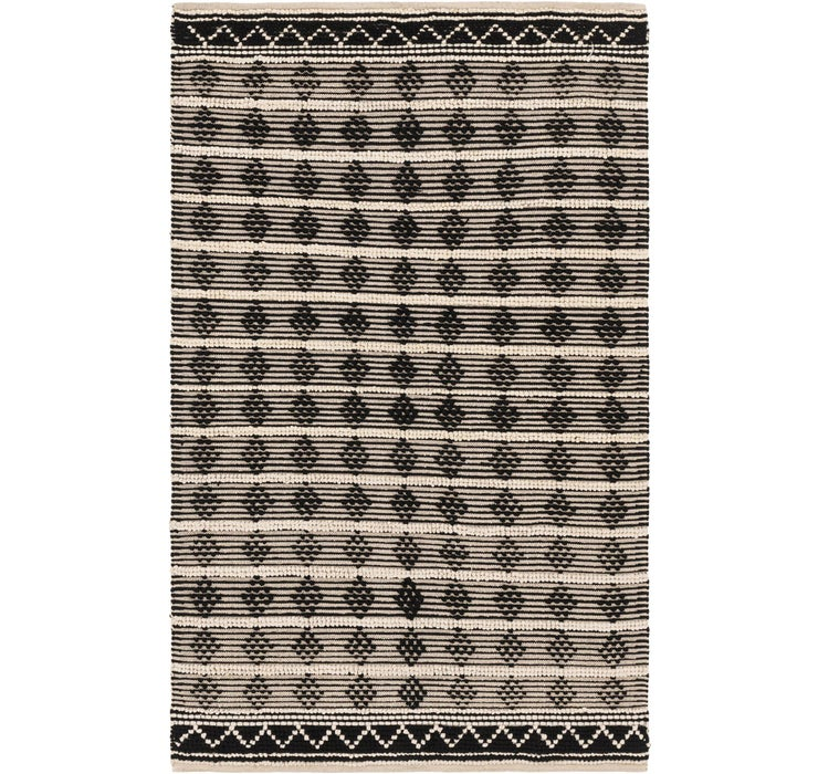 5' 1 x 8' 3 Chindi Cotton Rug