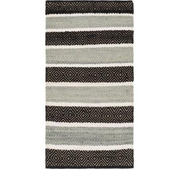 2' 10 x 5' 6 Chindi Cotton Rug main image