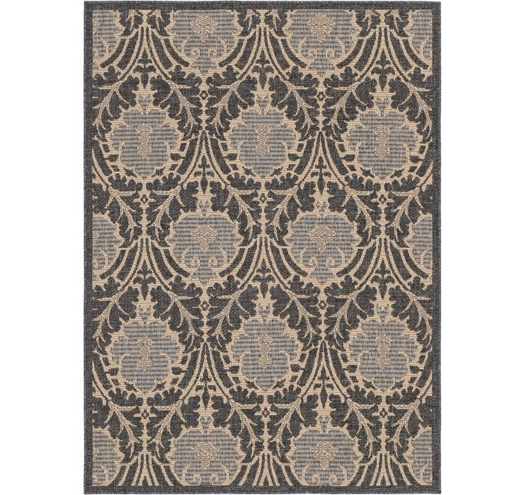 163cm x 225cm Outdoor Botanical Rug