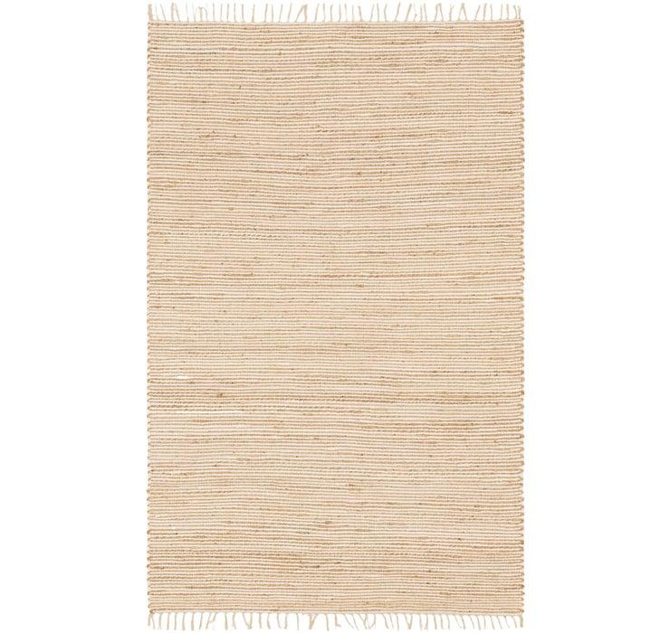 5' 3 x 8' 1 Chindi Cotton Rug