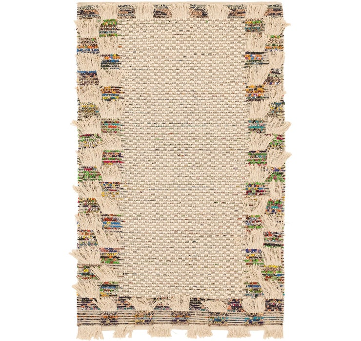 5' 2 x 8' Chindi Cotton Rug