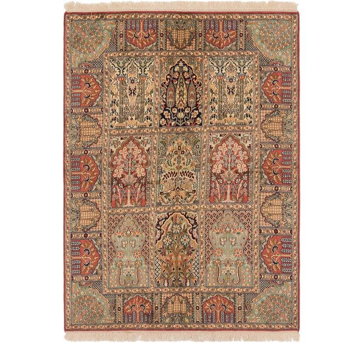 4' 1 x 6' Kashmir Oriental Rug